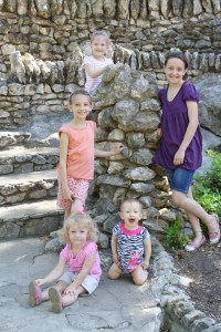 Exploring a Japanese garden counts as a science credit and a field trip.