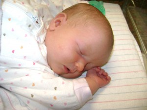 After five children, I am still awed at the total perfection of a newborn.