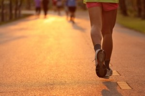 In a marathon, the end goal is the finish line.