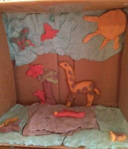 creation diorama