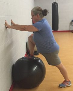 Hip flexor stretch is an easy stretch for flexibility that loosens tight muscles in the hip.