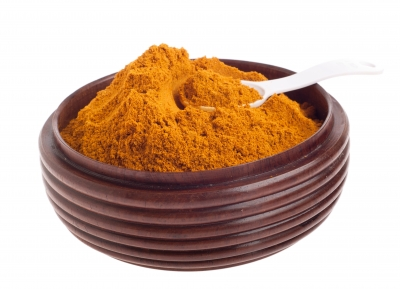 Turmeric gives the orange color to Golden Milk.
